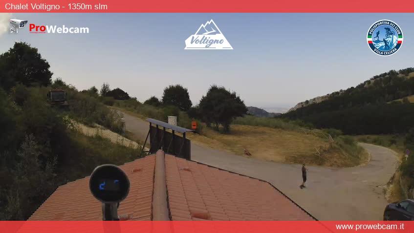 webcam Altopiano del Voltigno, Abruzzo Italy